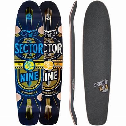 Sector Cloud Longboard Skateboard Complete Custom Muirskate