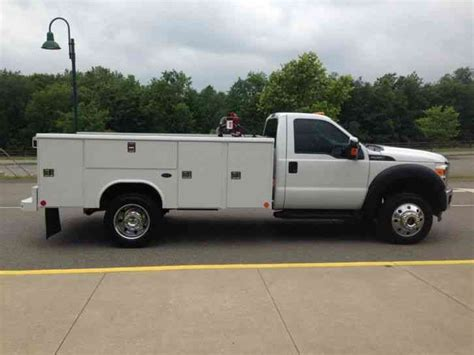 Ford Utility by Ford F450 2014 Utility Service Trucks