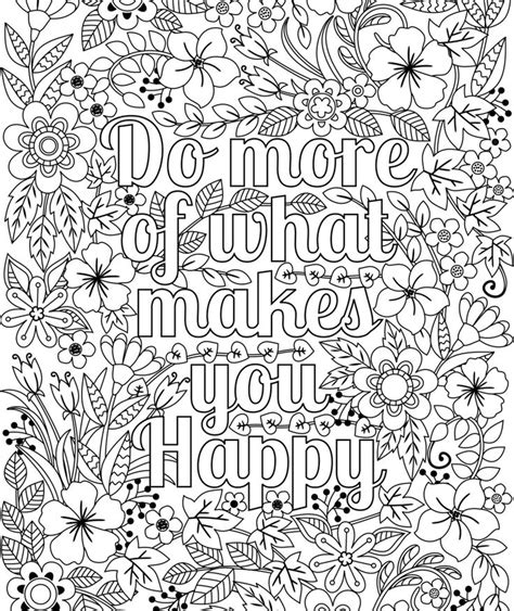 Coloring Quotes For Adults Printable by 25 Best Ideas About Quote Coloring Pages On