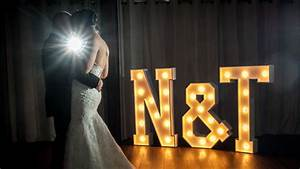 wedding light up letters the word is love With large light up letters for wedding
