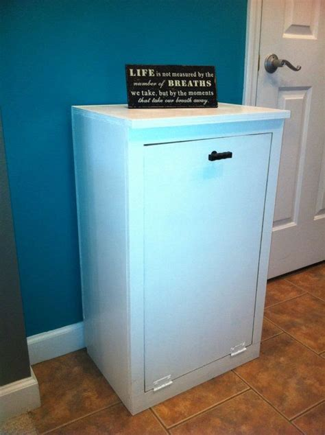 Cabinet Trash Can Holder by Trash Can Container Cabinet Clothes Her Storage