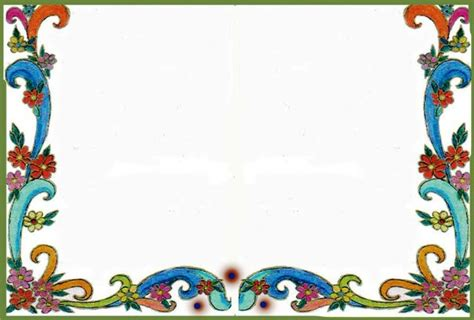 Disegno Cornici by Cornici Disegno Migliori Pagine Da Colorare