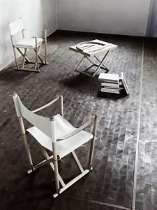 uniques idees pour la deco avec la chaise pliante With idee deco cuisine avec chaise de salle a manger en cuir noir