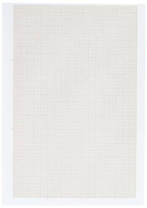 bureau poste 11 papier dessin millimétré a4 90g bloc de 50 feuilles