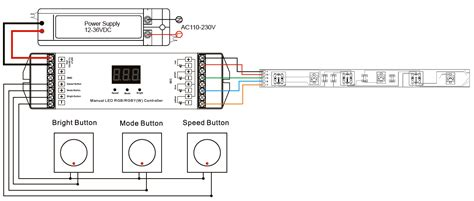Manual Rgb Rgby Led Controller