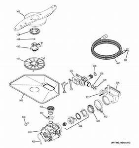 Ge Gld5660n10ss Dishwasher Parts
