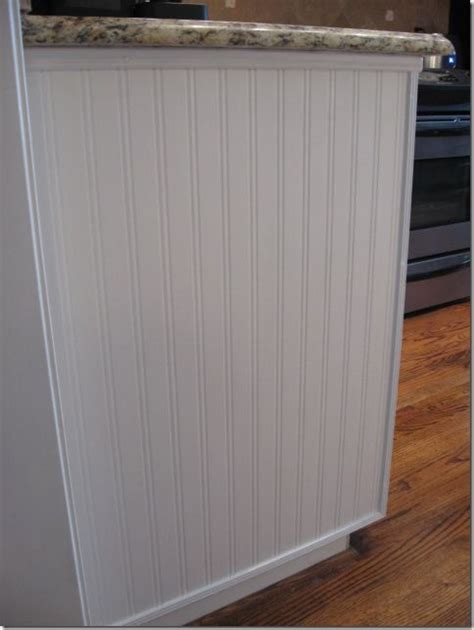 adding beadboard to kitchen cabinets how to decorate series day 11 adding architectural 7402