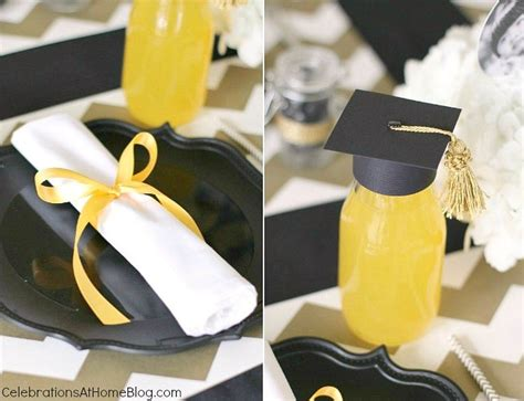 Graduation Table Decorating Kit by Graduation Ideas Modern Classic Style