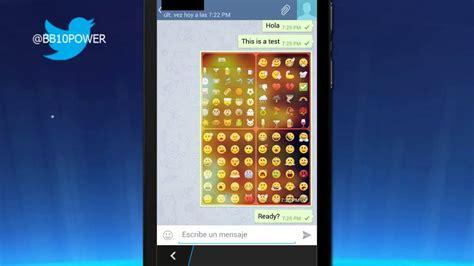 telegram android app on blackberry z10 10 2 1