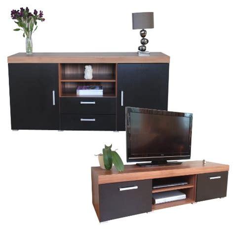 Sideboard Tv Unit by Black Walnut Sydney Large Sideboard Tv Cabinet 140cm