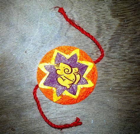 diy traditionally handmade rakhi  gift shopping