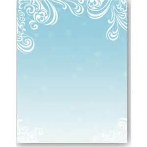 Winter Holiday Border Paper