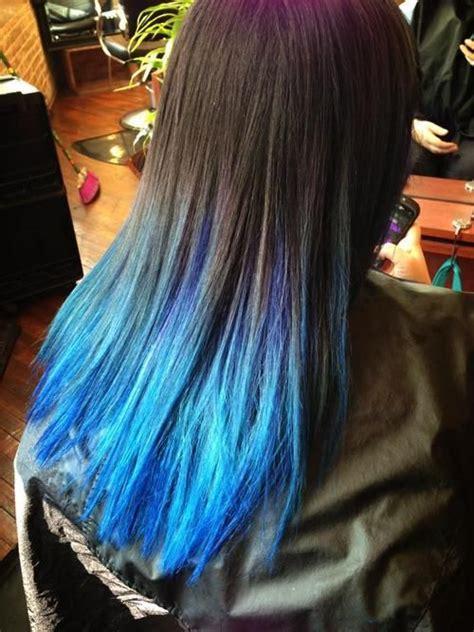 1000 Ideas About Blue Dip Dye On Pinterest Blue Dip Dye