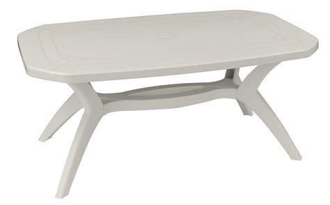 chaise plastique blanche beautiful table de jardin blanche plastique photos