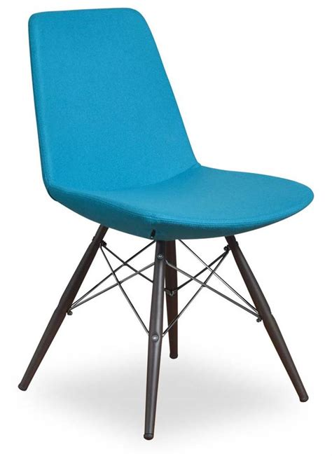 modern side chair in turquoise set of 2 express home decor