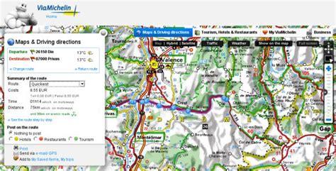 Via Michelin Itinã Raire by Image Gallery Michelin Itineraire