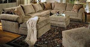 Interior furniture beige chenille fabric westwood for Beige chenille fabric westwood sectional sofa couch with coffee table ottoman