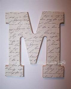 Wooden wall letter design 12 by liza anne art modern for Modern wall letters