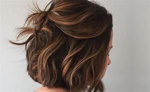 Balayage Cheveux Frisés : balayage caramel se faire des m ches caramel pour ch tains et brunes ~ Farleysfitness.com Idées de Décoration