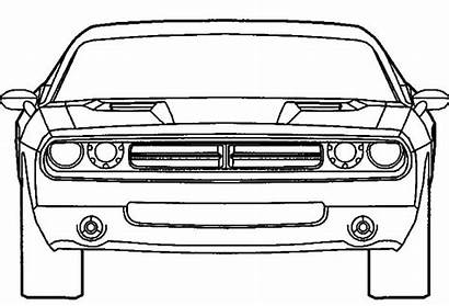 Coloring Dodge Challenger Charger Police Cars Colouring