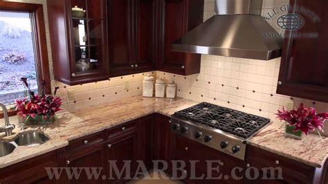 ivory brown granite kitchen countertops ii  marblecom