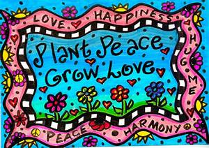 Image Gallery love hippie art