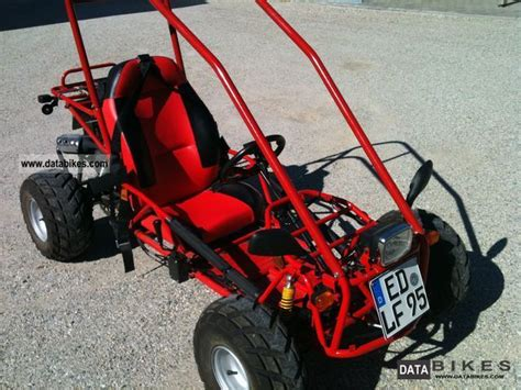 2009 adly gk 125 go kart buggy