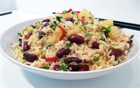 salade de riz 224 l ananas toqu 233 s 2 cuisine