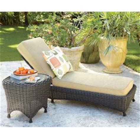 martha stewart living lake adela oatmeal patio chaise