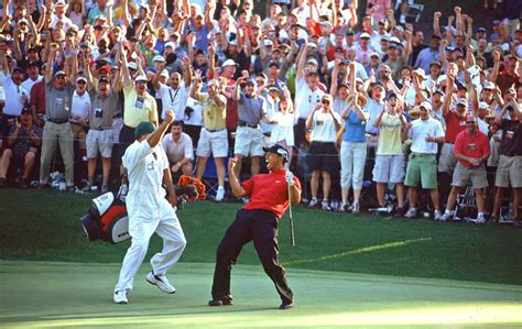 What was Tiger Woods' handicap when he was at his peak?