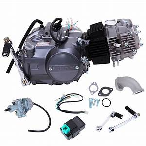 125cc 4 Stroke Single Cylinder Air Cooled Engine Motor For