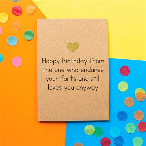 Check spelling or type a new query. 'birthday Farts' Funny Husband Birthday Card By Bettie Confetti | notonthehighstreet.com