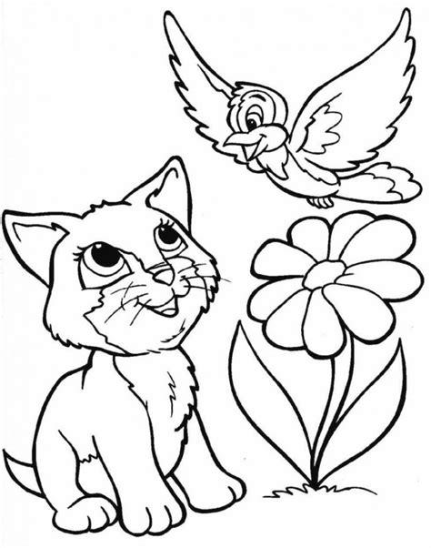 gambar animasi kucing hitam putih 28 images mewarnai atau