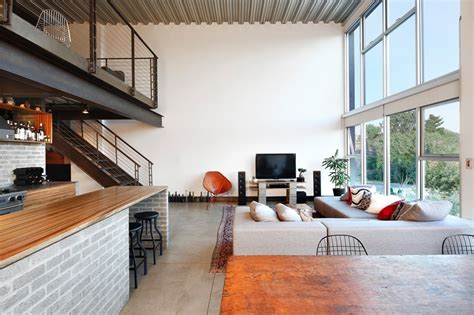 seattle interior decorator pict an industrial interior for this loft apartment in seattle