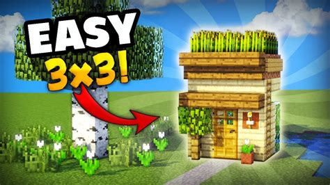 minecraft     smallest house     survival great    day