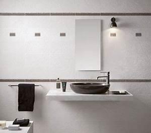 Frise Carrelage Sol : carrelage mural et sol pour refaire sa salle de bain ~ Melissatoandfro.com Idées de Décoration
