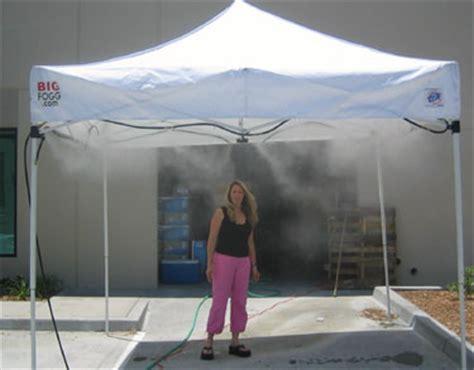 high pressure misting tent rental