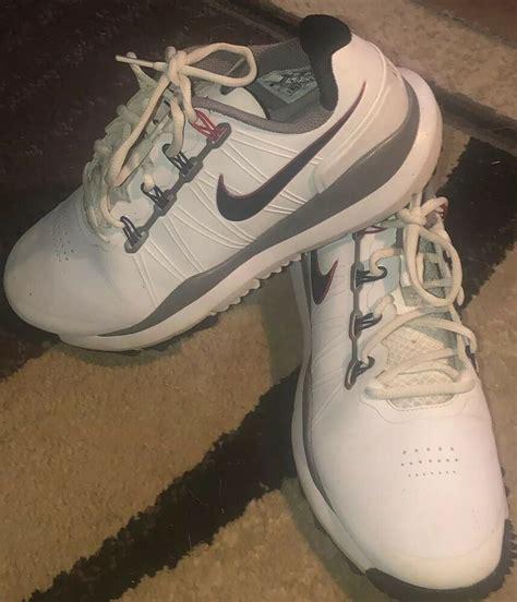 Tiger Woods Nike Golf Shoes Soft Spike 599416 2013 Minty ...