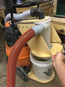 Cyclonic dust collection bucket - Projects - Inventables