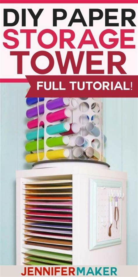 12x12 Paper Storage - DIY Vertical Organizer for Scrapbook ...