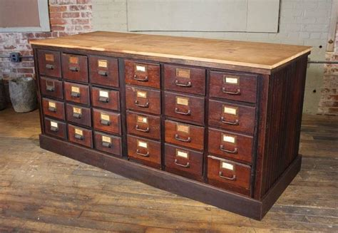 Wooden Apothecary Cabinet by Apothecary Cabinet Vintage Wooden Storage Store Counter