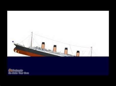 Lusitania Sinks In Real Time by Sinking Simulator The Rms Lusitania