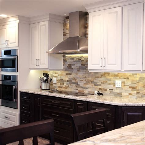 kitchen backsplash lighting montella kabco kitchens 2226