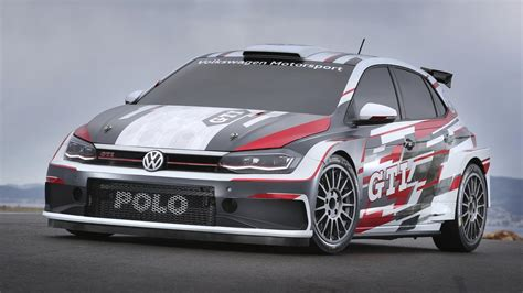 Volkswagen's New Polo Gti Rally Car Is Here