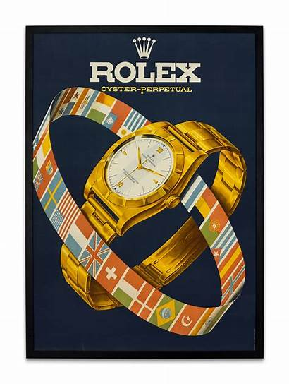 Advertising Rolex Poster Watches