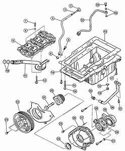 2012 Dodge Ram 2500 Gasket  Oil Pan  Engine  Diesel  Oiling