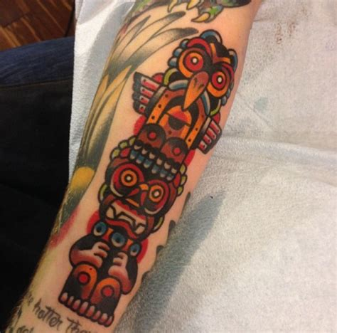 totem pole tattoos designs ideas  meaning tattoos