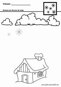 Flocon De Neige En Papier Facile Maternelle : graphisme en maternelle ~ Melissatoandfro.com Idées de Décoration