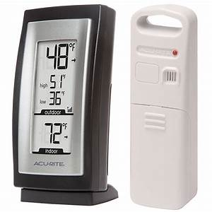 Digital Indoor    Outdoor Thermometer 00831a2    00822