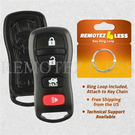 Key Fob Remote Shell Keyless Entry Case For Nissan